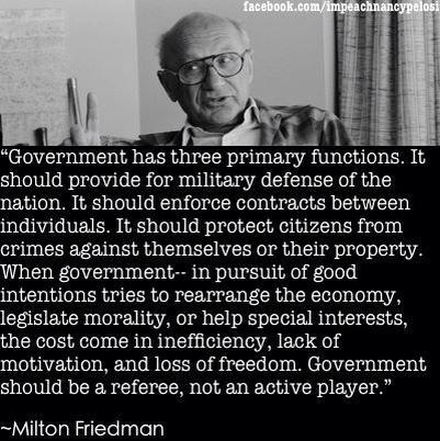 Milton Friedman Quotes Delectable Milton Friedman Quote Joe Jarvis